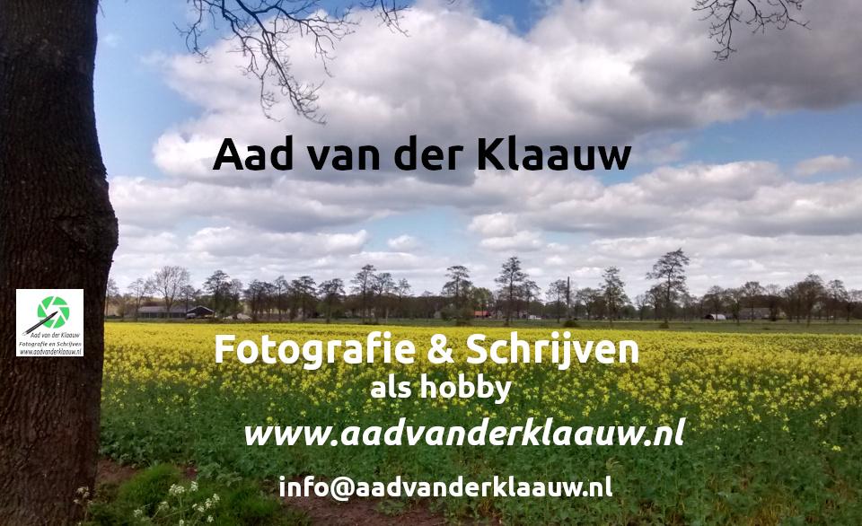 Aad van der Klaauw Fotografie en Schrijven